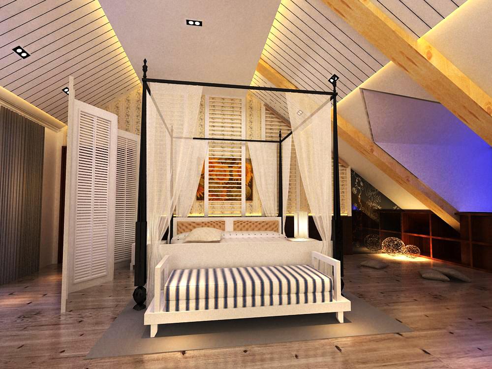 guest room seventeen 3d model max 140373