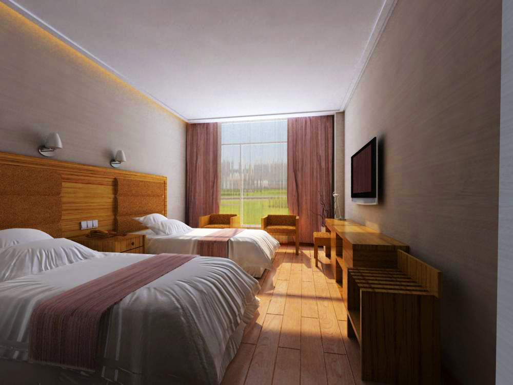 guest room three 3d model max 140345
