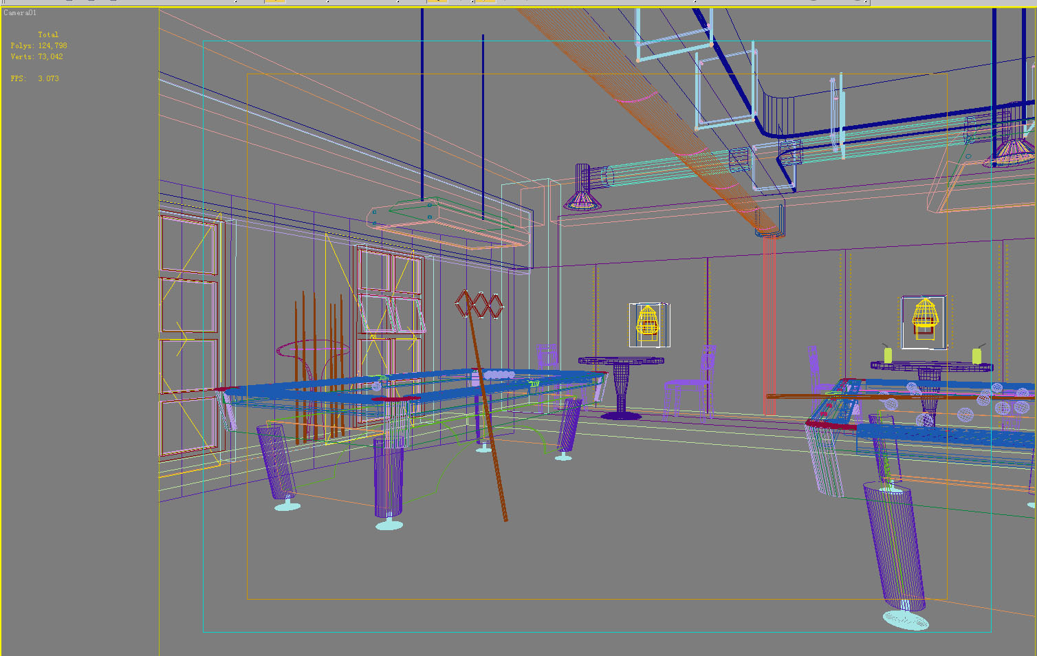 gym 007 two 3d model max 140976