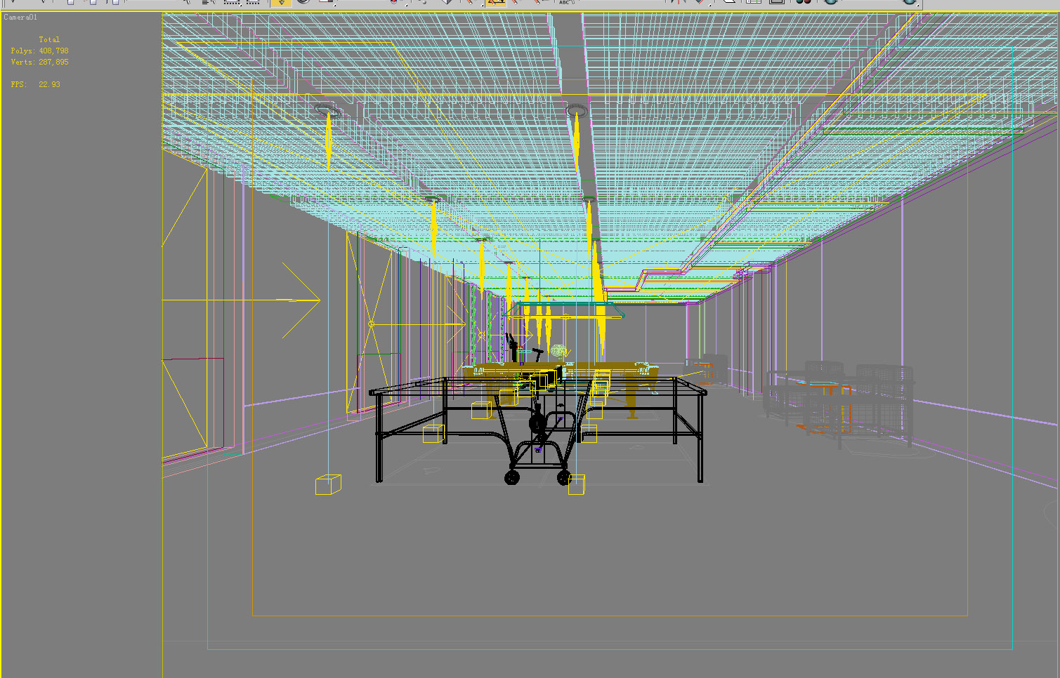 gym 015 two 3d model max 140992