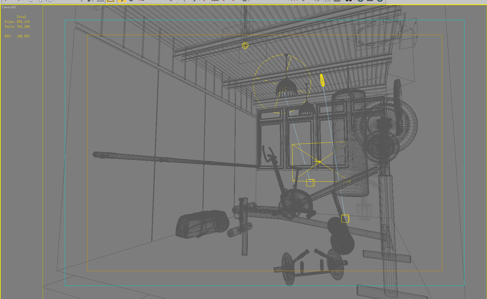 gym 018 two 3d model max 140998