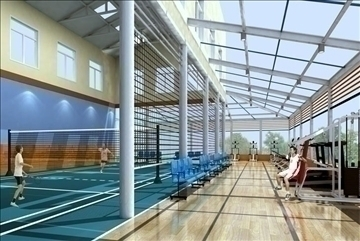 gymnasium 001 3d model 3ds max jpeg jpg 81302