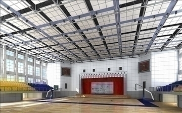 gymnasium 004 3d model 3ds max jpeg jpg 81308
