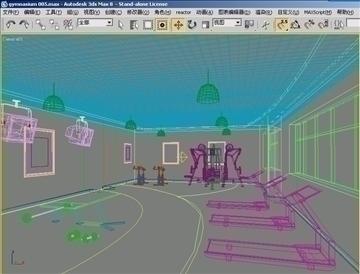 gymnasium 005 3d model 3ds max jpeg jpg 81311