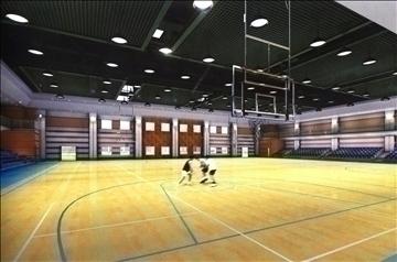 gymnasium 008 3d model 3ds max 90031