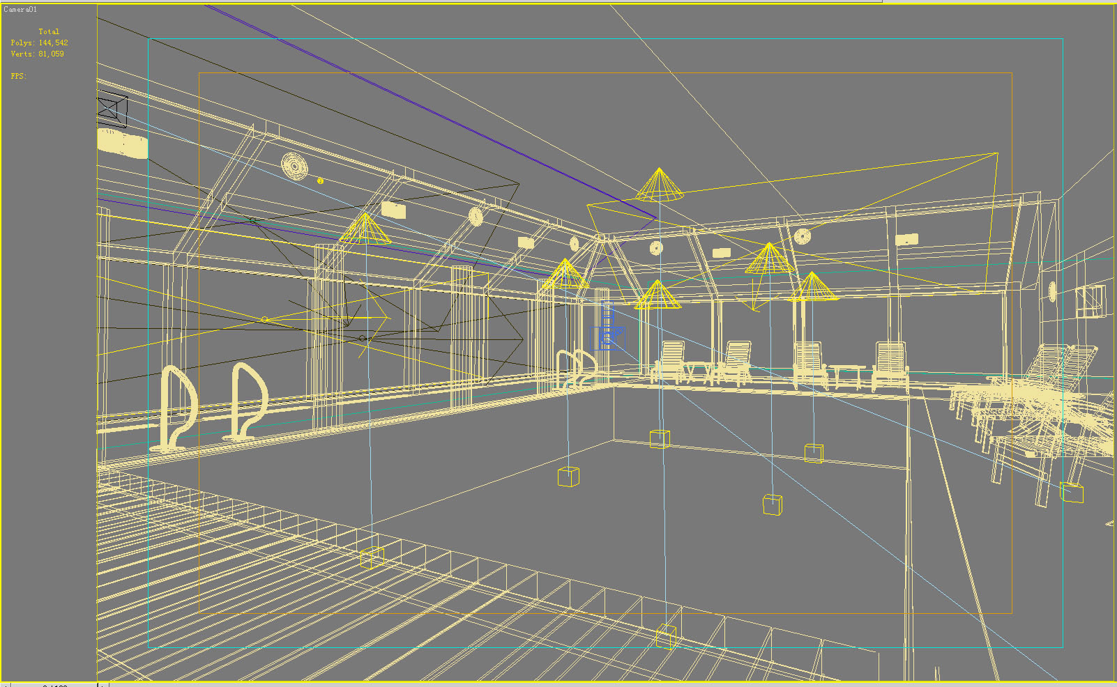 gymnasium 020 two 3d model max 121883