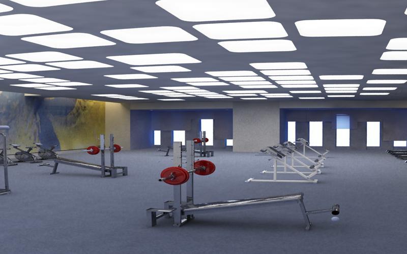 gymnasium 027 3d model max 121897