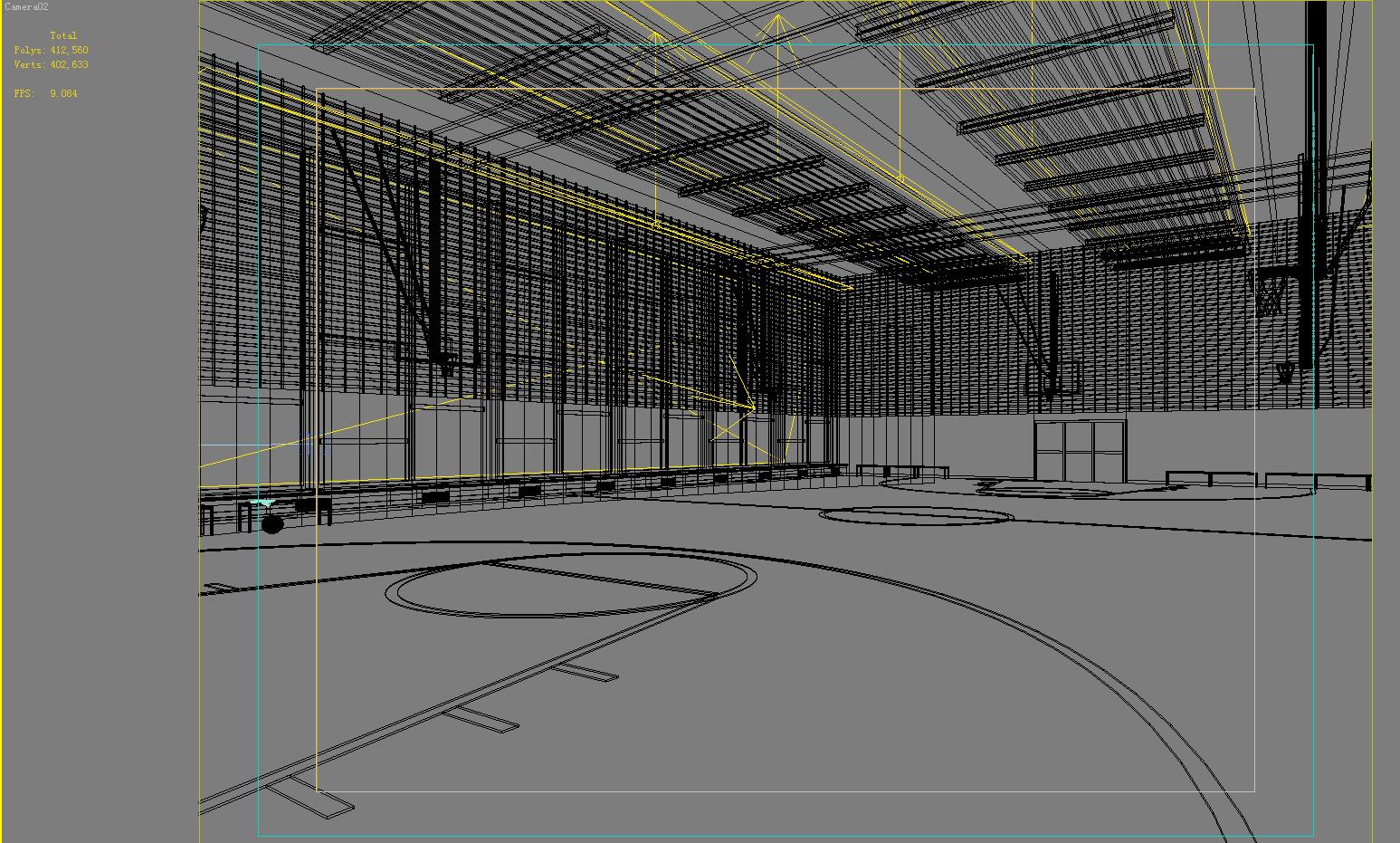gymnasium 031 3d model max 121906