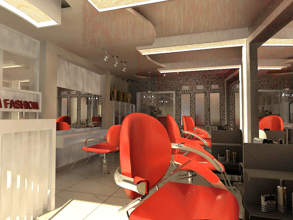 hairdressing room 001 3d model max 136976