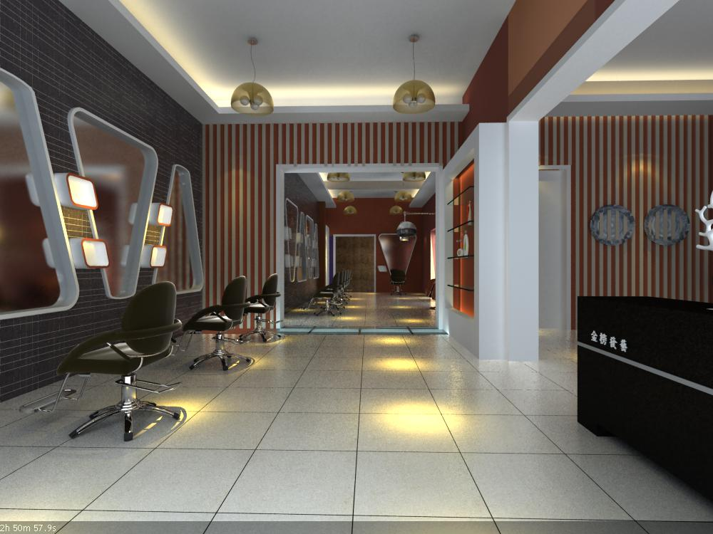 hairdressing room 002 3d model max 136941
