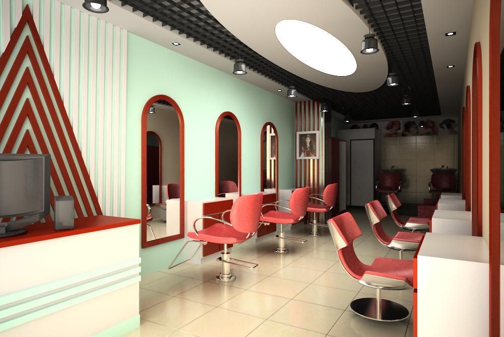 hairdressing room 003 3d model max 136957