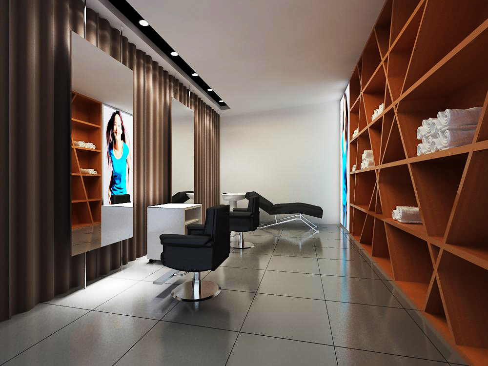 hairdressing room 007 3d model max 136974