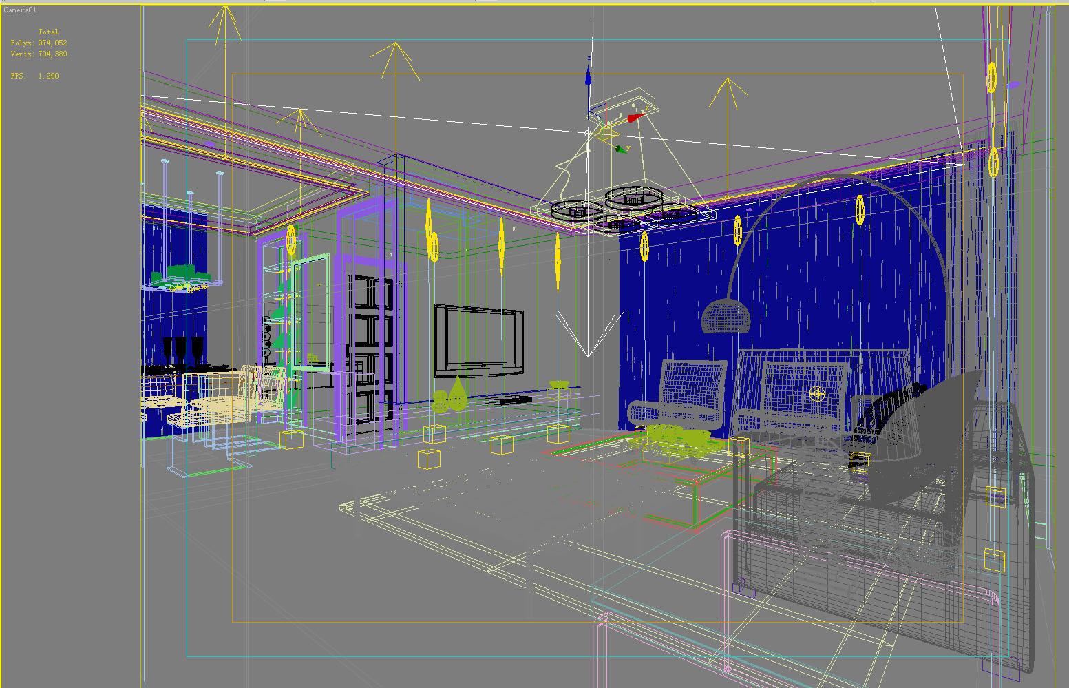 home 0010 3d model max 122633