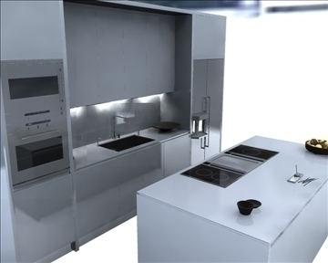 kitchen 3d model ma mb obj 82830
