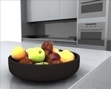 kitchen 3d model ma mb obj 82831