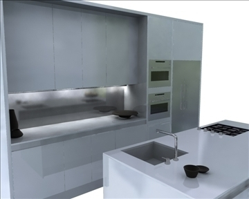 kitchen 3d model ma mb obj 82832