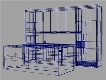 kitchen 3d model ma mb obj 82833