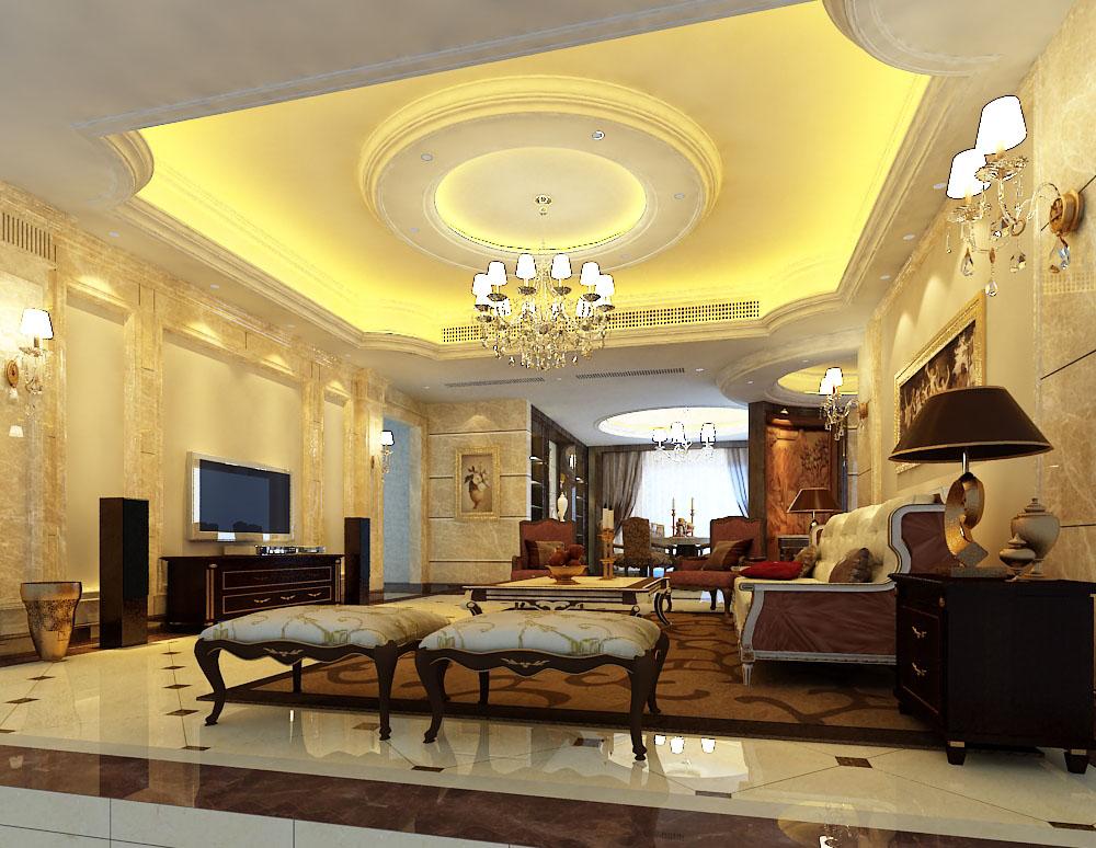 living room 001 3d model max 136589