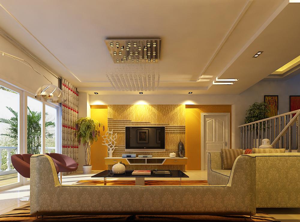 living room 002 3d model max 136591