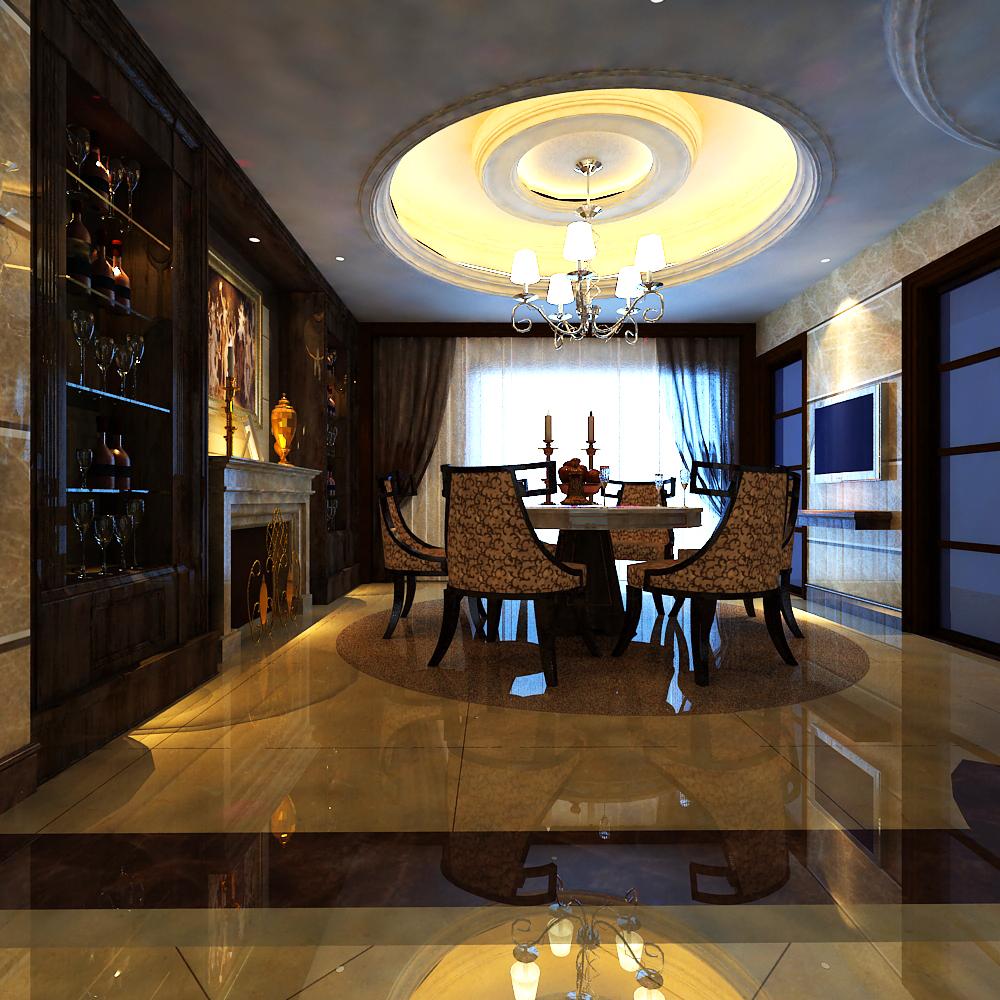 living room 003 3d model max 136593