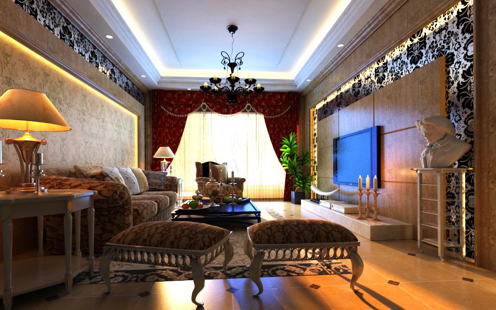 dzīvojamā istaba 006 3d modelis max 136599