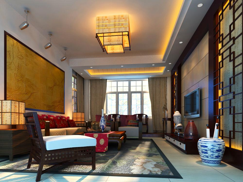 dzīvojamā istaba 007 3d modelis max 136601