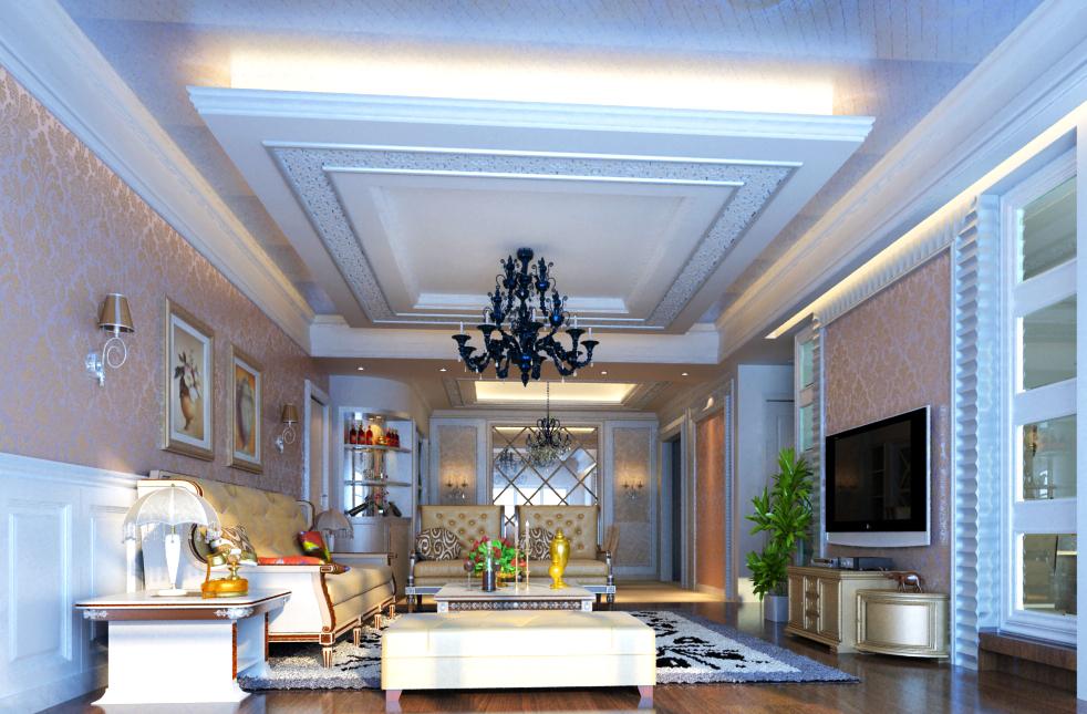 living room 010 3d model max 136607