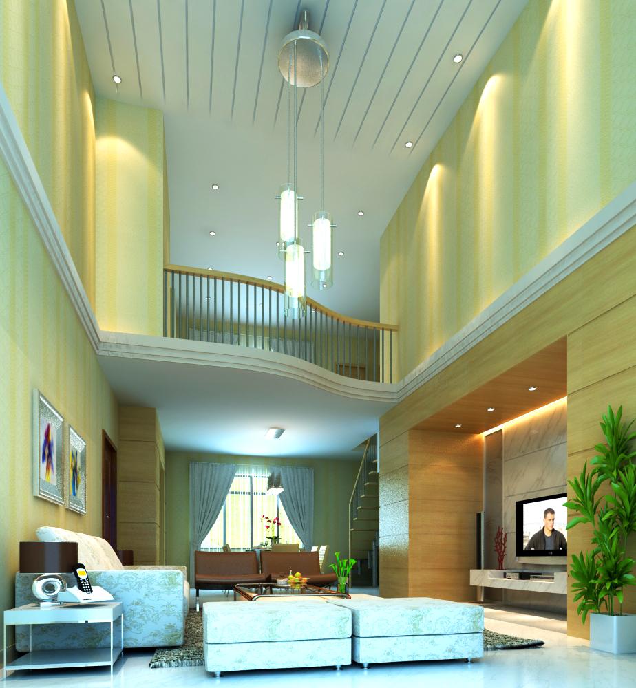 living room 011 3d model max 136609
