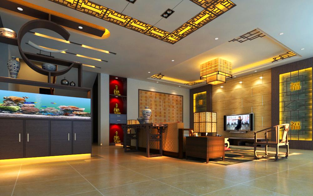 living room 012 3d model max 136611