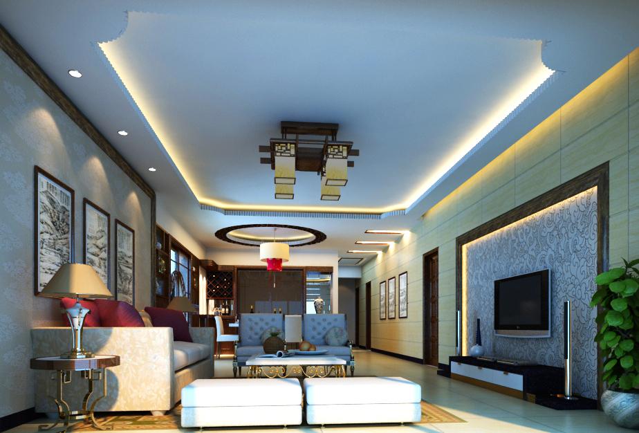living room 014 3d model max 136615