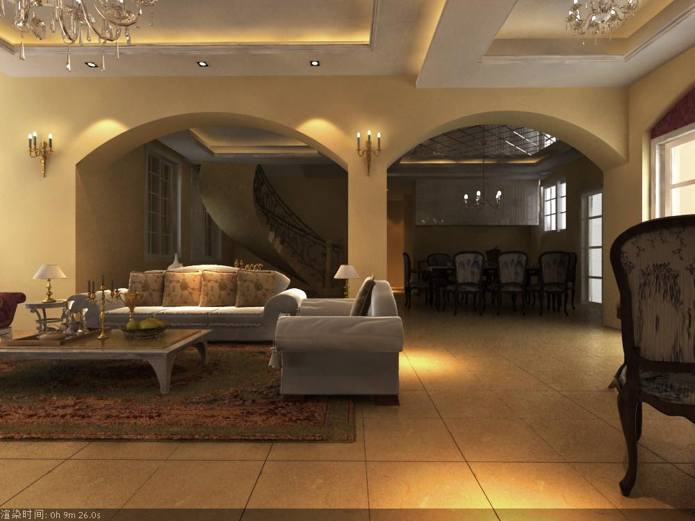 living room 024 3d model max 136634