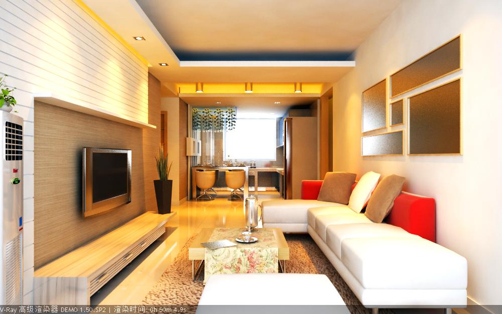 dzīvojamā istaba 026 3d modelis max 136638
