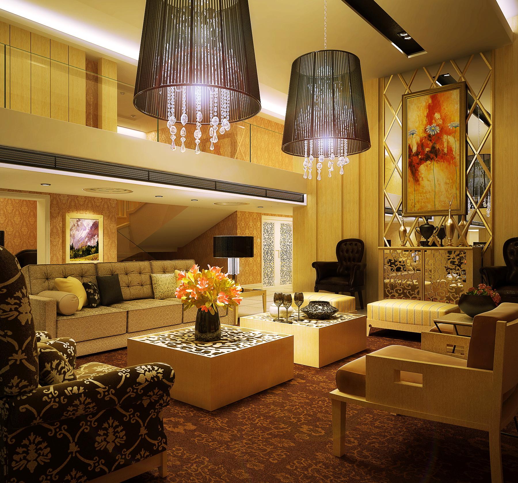 living room 050 3d model max 136703