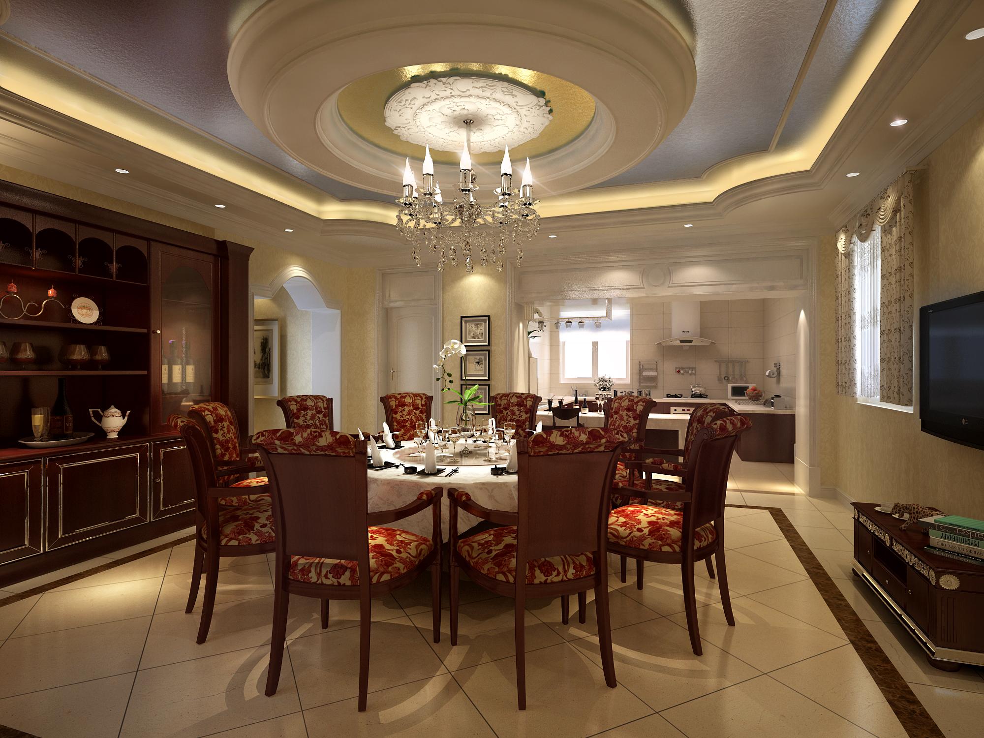 living room 052 3d model max 136739