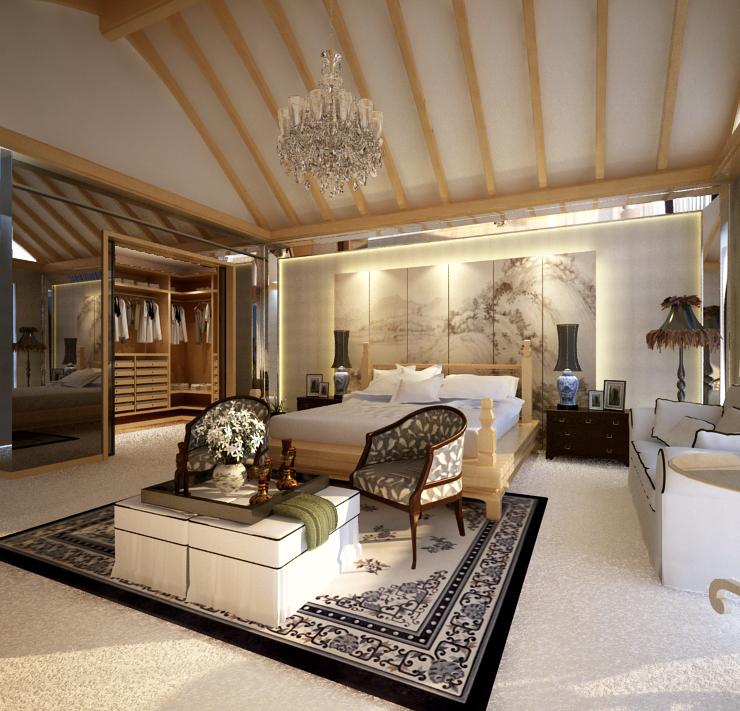 living room 053 3d model max 136705