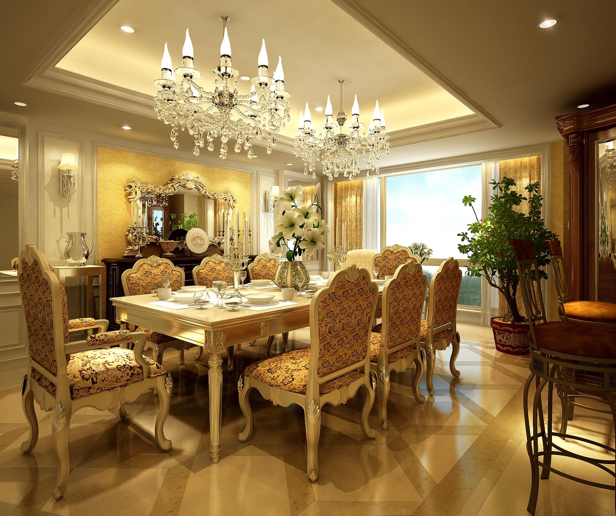 living room 054 3d model max 136707