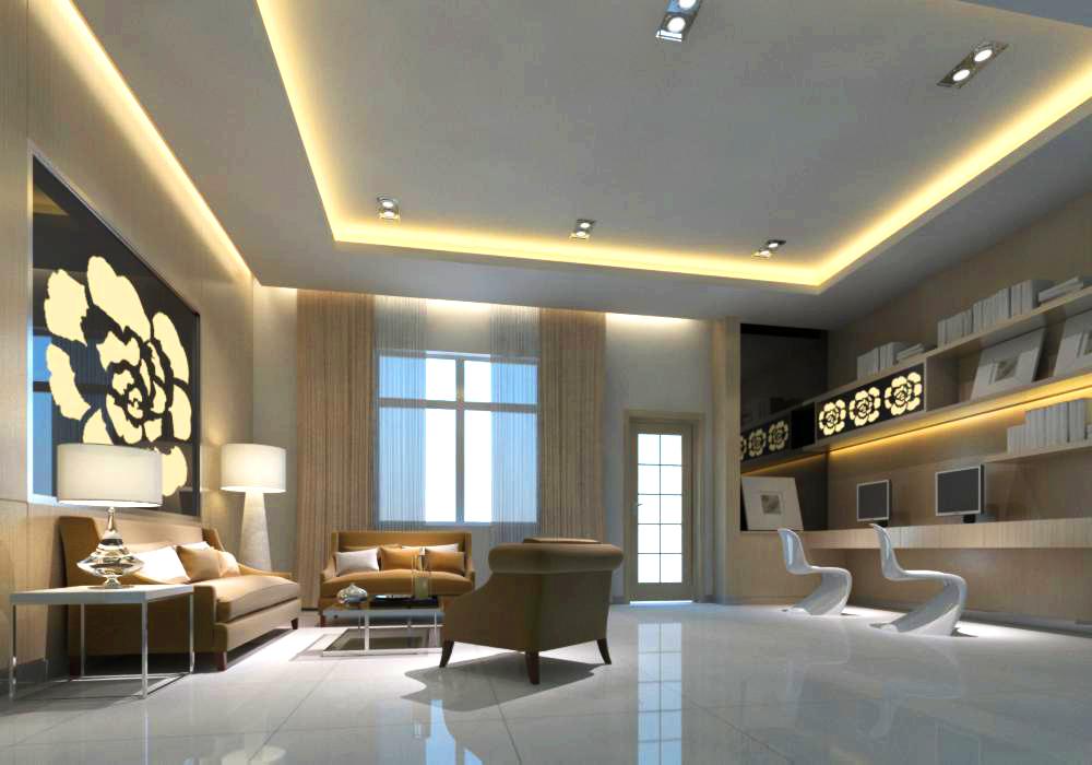 living room 064 3d model max 136727