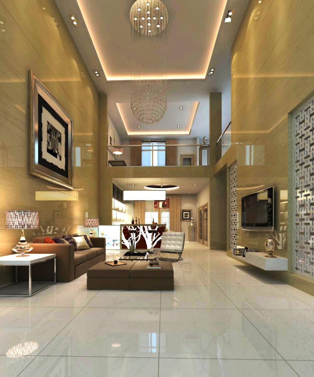 living room 065 3d model max 136729