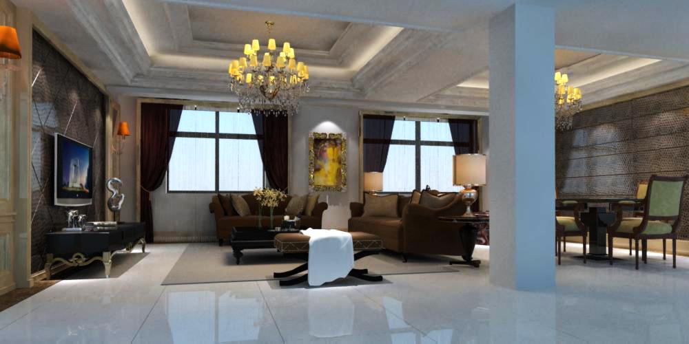 living room 067 3d model max 136731