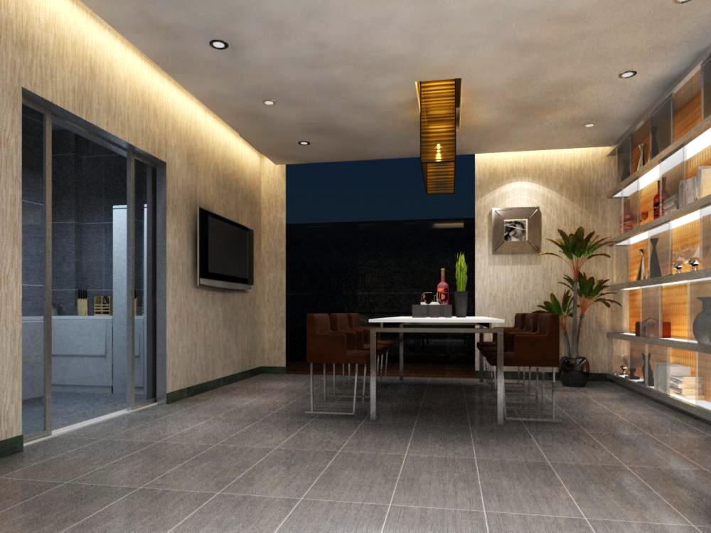 living room 068 3d model max 136735