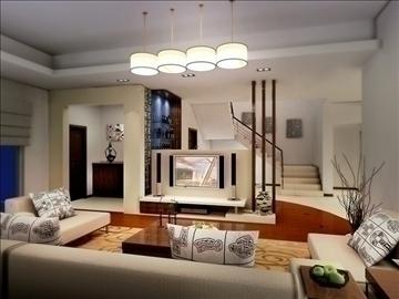 living room 10 3d model max 94396