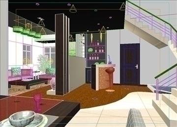 living room 10 3d model max 94399