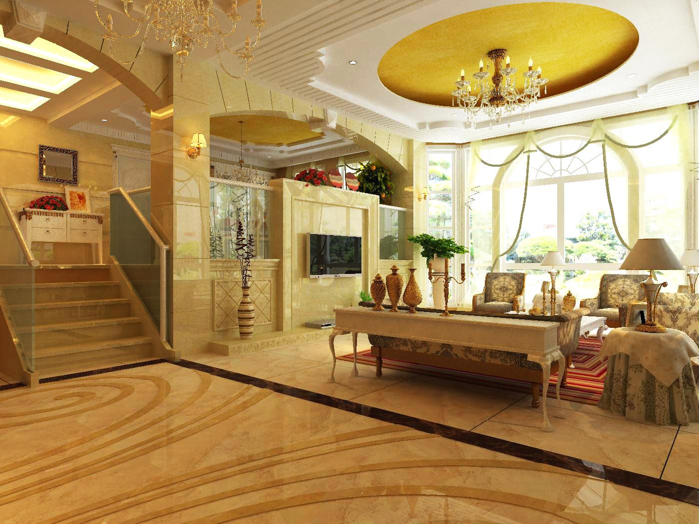 living room 1001 3d model max 121451