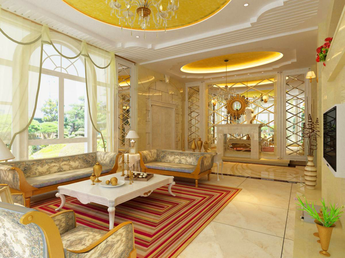 living room 1002 3d model max 121453