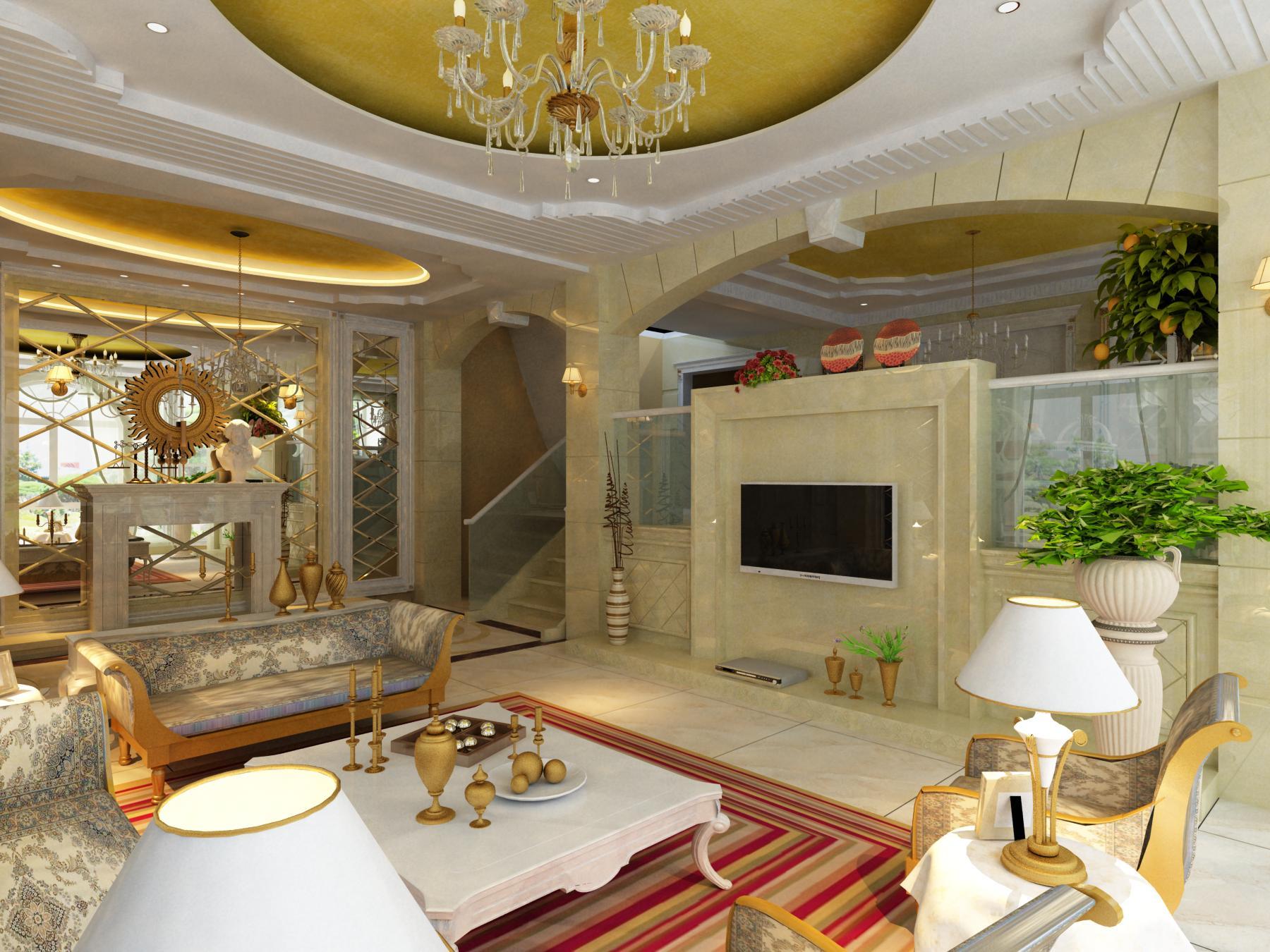living room 1003 3d model max 121455