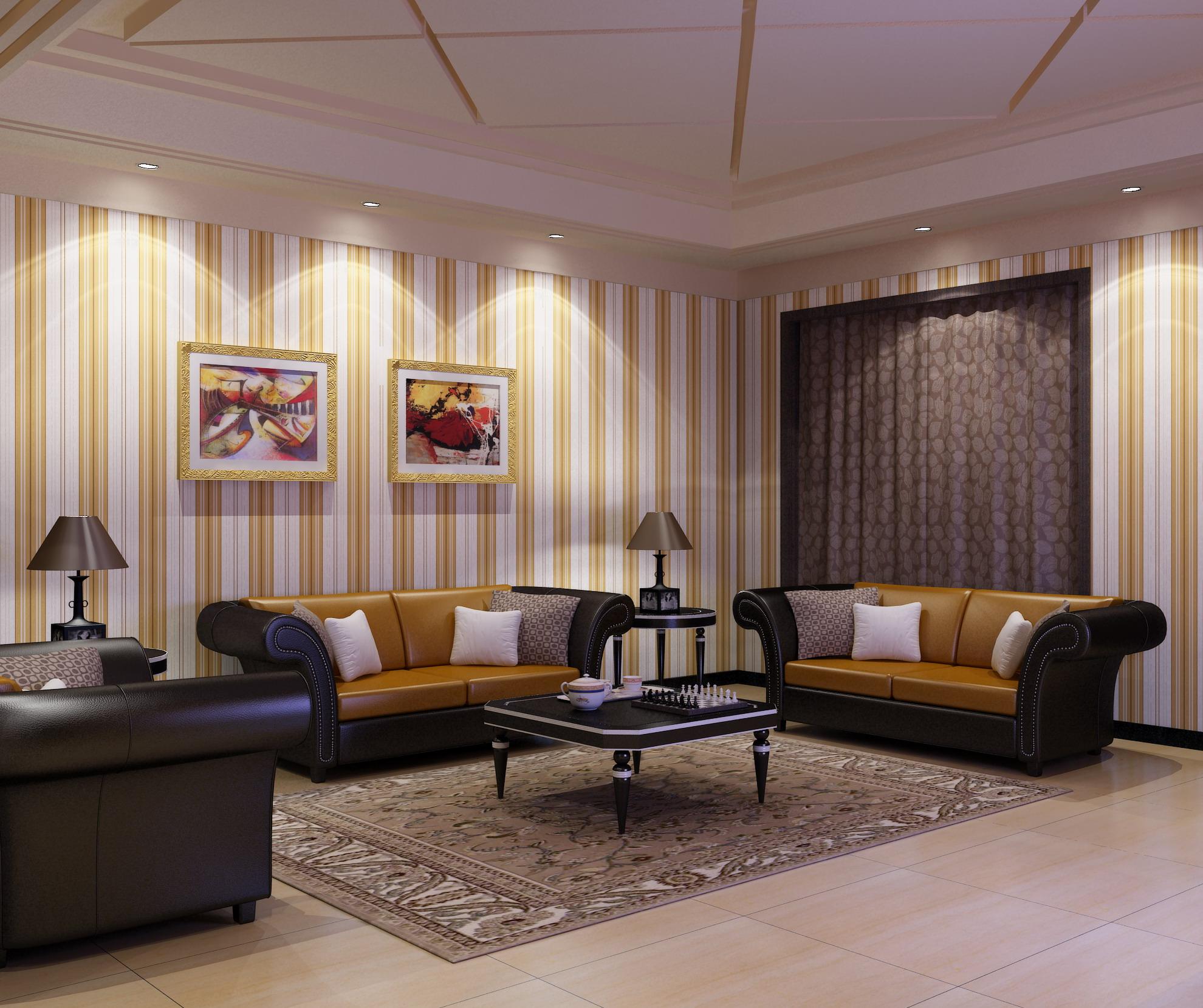 living room 1006 3d model max 122340