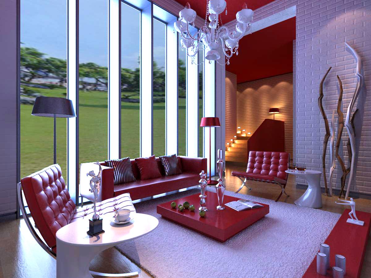 living room 1009 3d model max 121465