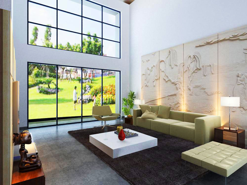 living room 1013 3d model max 122349