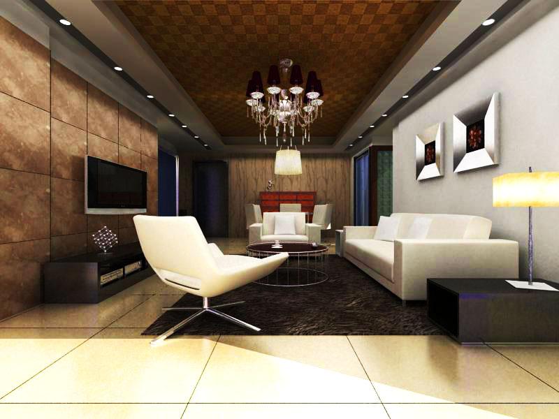 living room 1016 3d model max 122355