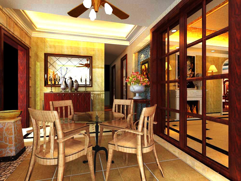 living room 1017 3d model max 122357